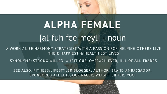 Alpha Female About Me