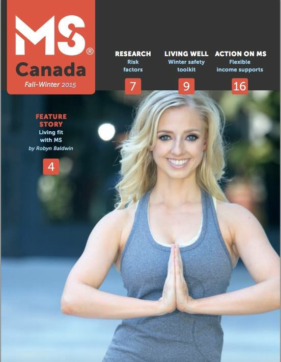 MS Canada Magazine Cover